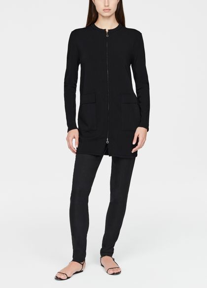 Sarah Pacini Cardigan long - fermoir zip