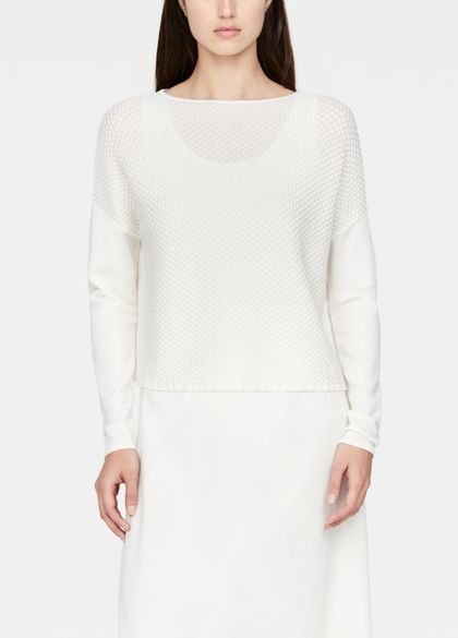 Sarah Pacini Mosaic sweater - cropped