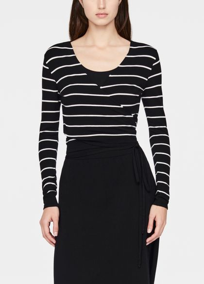 Sarah Pacini Cache-coeur - stripes