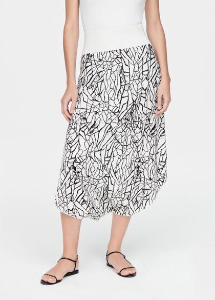 Sarah Pacini Skirt - desert soil