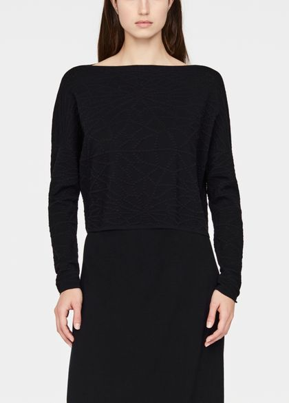 Sarah Pacini Cropped sweater - starburst