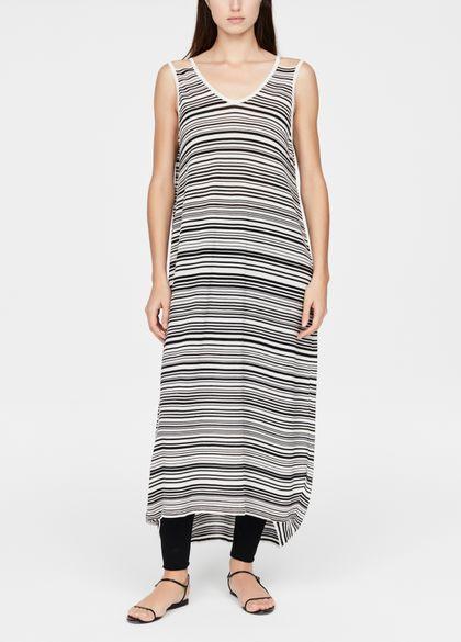 Sarah Pacini Lichte jurk - uitgesneden details
