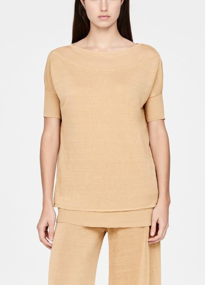 Sarah Pacini Linen sweater - casual