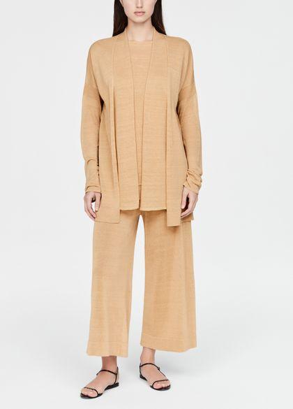 Sarah Pacini Linen cardigan - layered