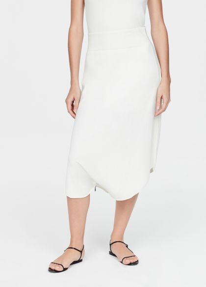 Sarah Pacini Light skirt - zippered hem