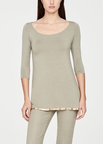 Sarah Pacini Modal top - ¾ sleeves