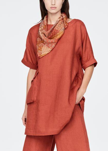 Sarah Pacini Square scarf - patchwork
