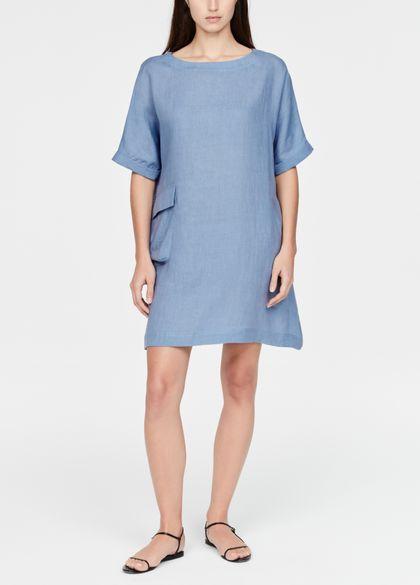 Sarah Pacini Linen dress - a-line