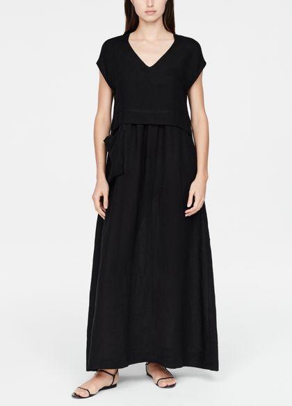 Sarah Pacini Linnen jurk - a-lijn