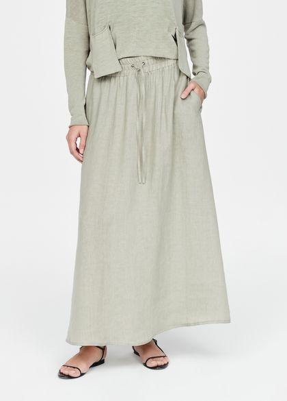 Sarah Pacini Linen skirt - flare