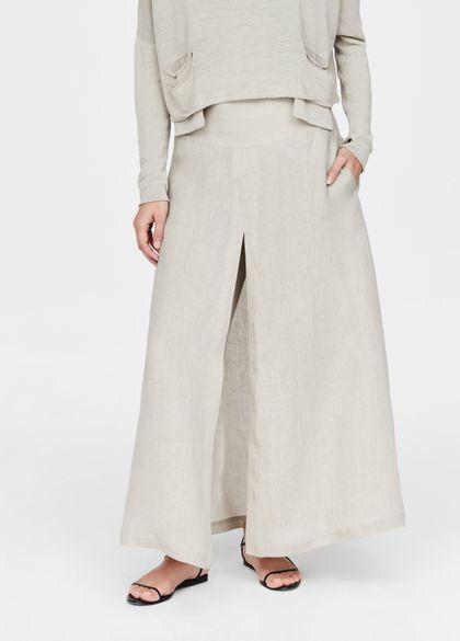 Sarah Pacini Linen pants - paneled