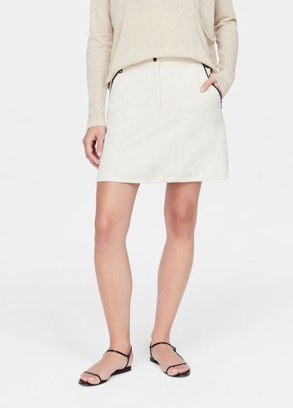 Sarah Pacini Cotton skirt - pockets