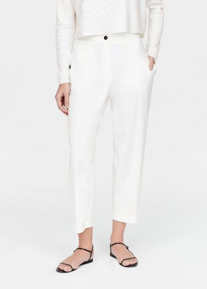 Sarah Pacini Light pants - buttoned pockets