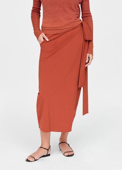 Sarah Pacini Light wrap skirt