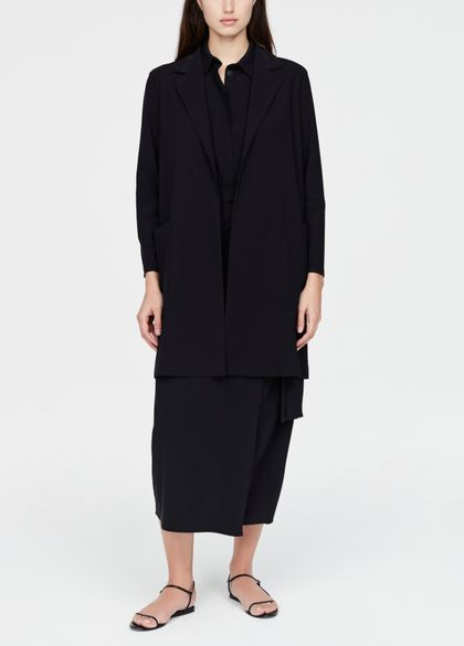 Sarah Pacini Long jacket - notched lapel
