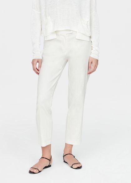 Sarah Pacini Stretch linen pants - yumiko