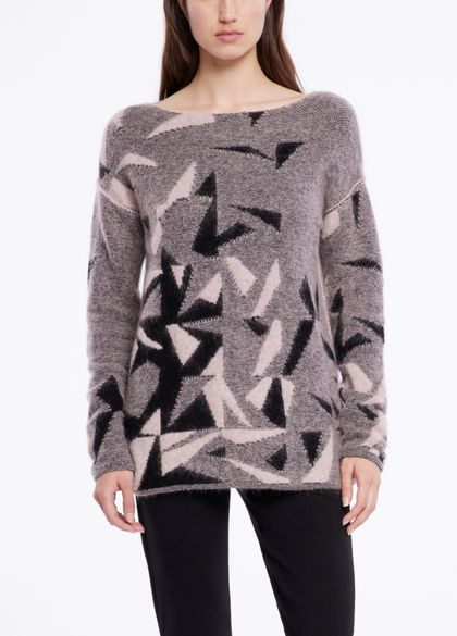 Sarah Pacini Langer pullover - jacquard