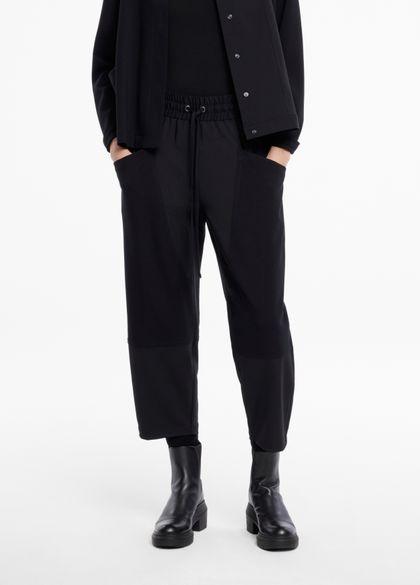 Sarah Pacini Hose aus gabardine - jerseytaschen