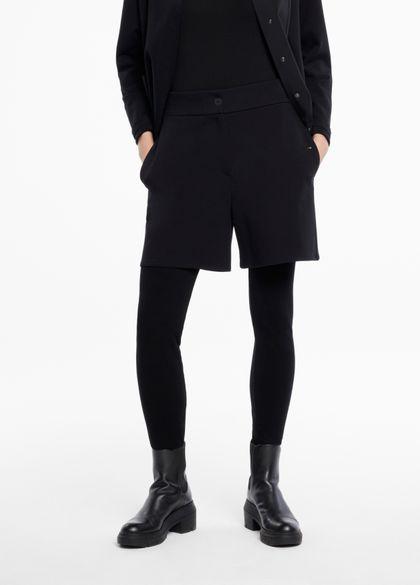 Sarah Pacini Shorts aus jersey - knopfelemente