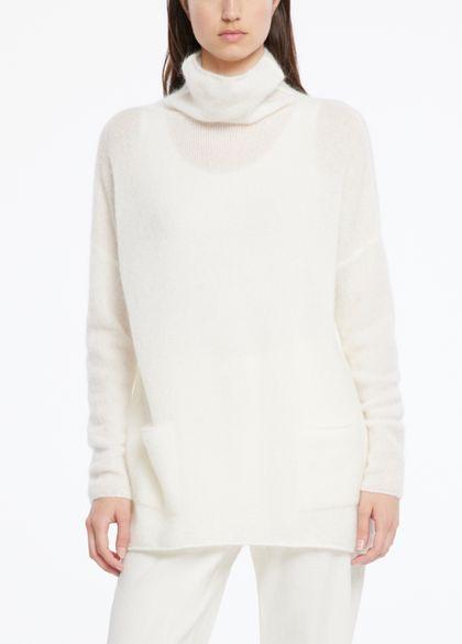 Sarah Pacini Mohair-merino-pullover - taschen