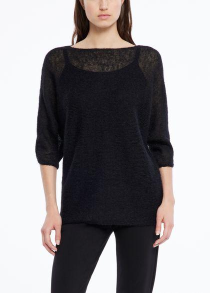 Sarah Pacini Ultra-leichter sweater mohair - 1/2-ärmel