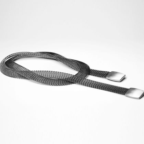 Sarah Pacini Silver belt - chain mail design