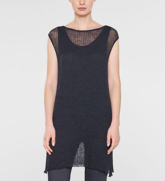 Sarah Pacini Long cap sleeve sweater