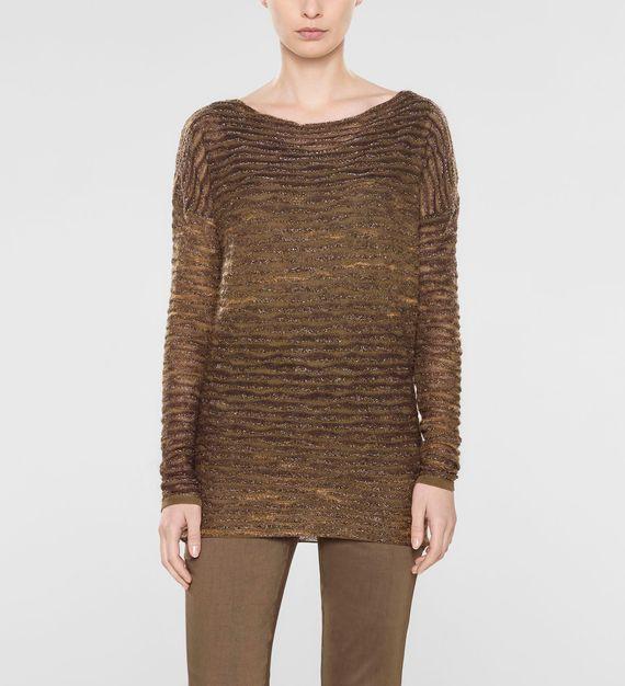 Sarah Pacini Lockerer langer sweater