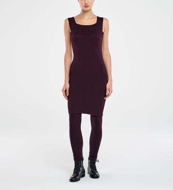 Sarah Pacini KNEE-LENGTH DRESS - SQUARE NECKLINE