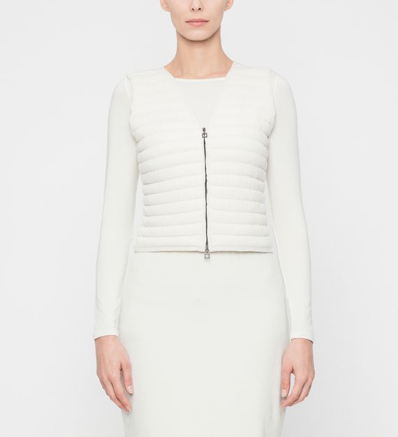 Sarah Pacini PADDED CARDIGAN - SLEEVELESS