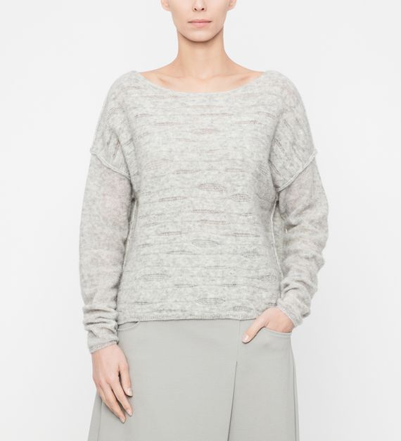 Sarah Pacini Soft sweater - translucent details