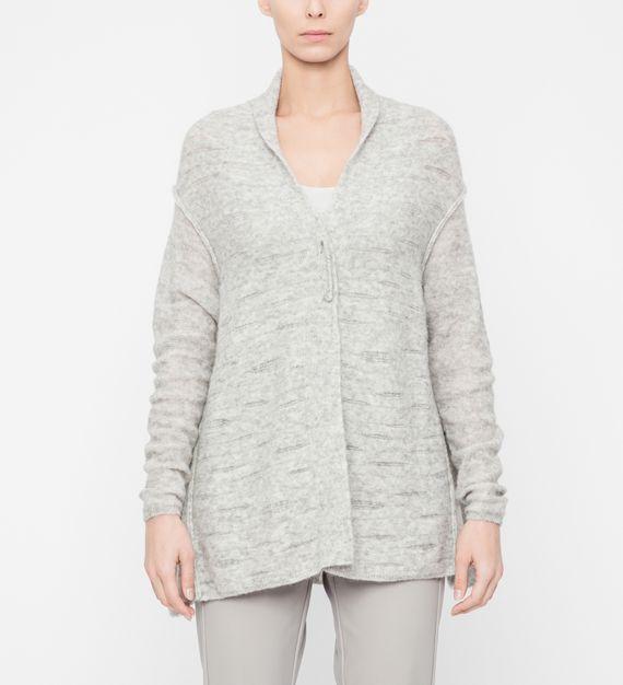 Sarah Pacini Soft cardigan - translucent details