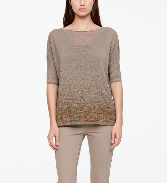 Sarah Pacini LINEN SWEATER - STARRY NIGHT
