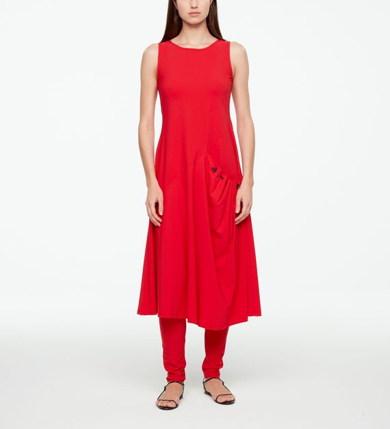 Sarah Pacini MAXI DRESS - TECHNO FABRIC