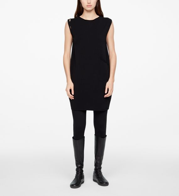 Sarah Pacini LIGHT DRESS - CAP SLEEVES