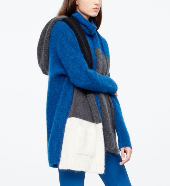 Sarah Pacini SCARF - COLOR-BLOCK