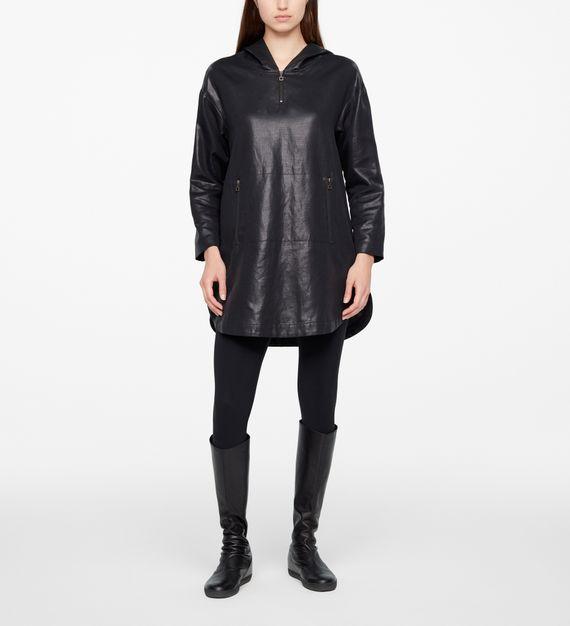 Sarah Pacini DRESS - LEATHER SHEEN